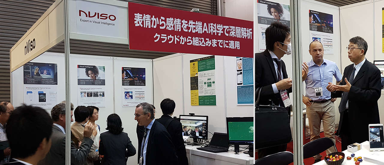 NVISO welcomed over 1000 visitors at AI-Expo 2018 in Japan